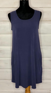 Eluminary Forever Tank Dress Navy
