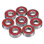 10pcs ABEC-5 608 2RS Skateboard Bearings