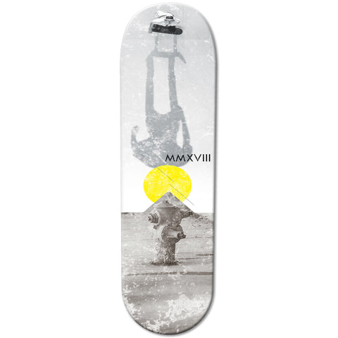 Water Pipe Designed Skateboard | Refresh Board Shop