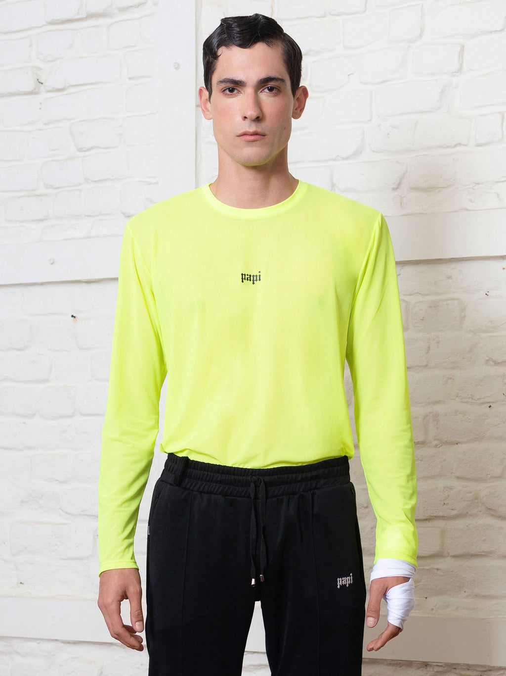 Mesh Neon Long Sleeve