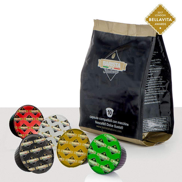 "Italian Dolce Gusto ""Mega"" Coffee Variety Bundle"