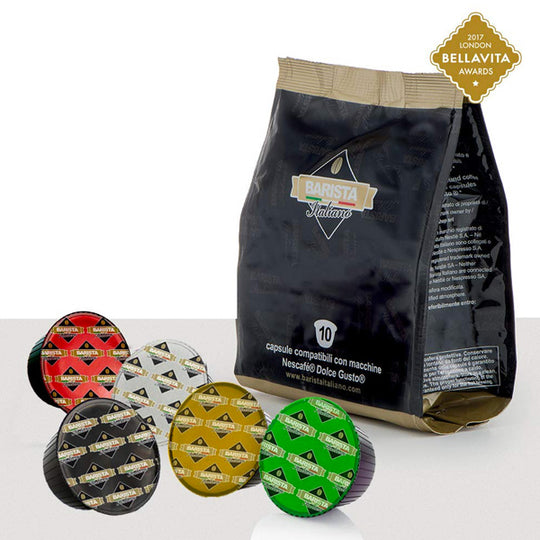 Italian Dolce Gusto Massive Coffee Variety Bundle