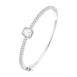 CZ Sterling Silver Fashion Bangle