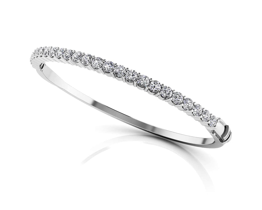 Gold Diamond Classic Bangle Bracelet    BB9