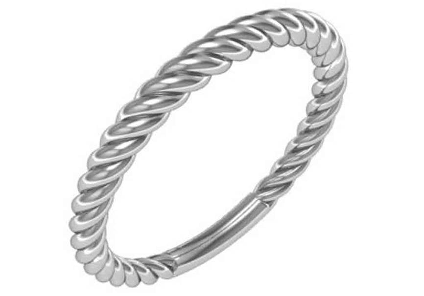 Gold Rope Designer Ring