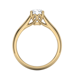 Gold Engagement Mounting