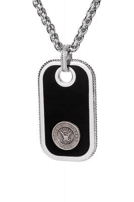 Navy Dog Tags - Pewter