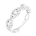 CZ Sterling Silver Fashion Ring