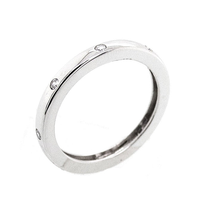 CZ Sterling Silver Fashion Band