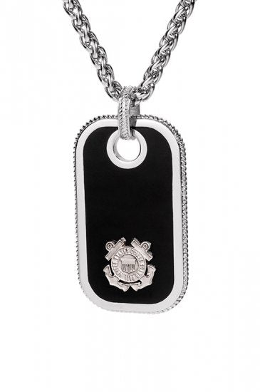 Coast Guard Dog Tags - Pewter