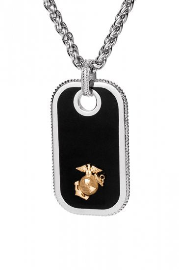 Marine Dog Tags - Gold