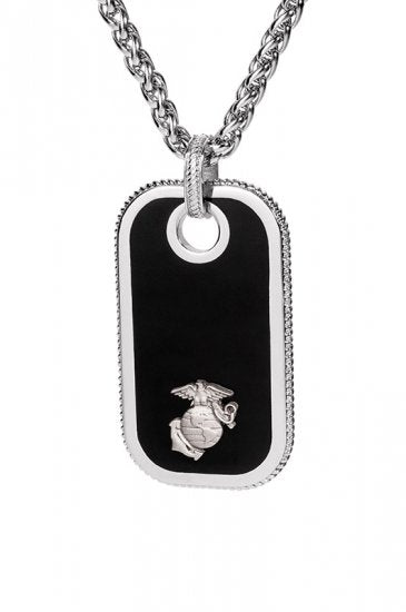 Marine Dog Tags - Pewter