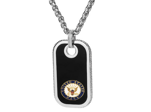 USMC Eagle Globe and Anchor Dog Tags
