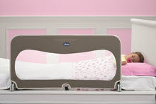 Baby equipment rental in Lisbon, Portugal. Chicco bed barrier for relaxing nights just like home.