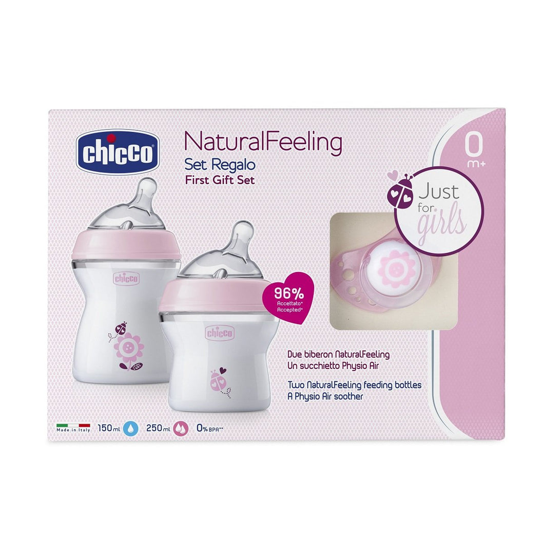 Baby equipment rental in Lisbon, Portugal. Chicco bottle set for the best care of your baby.