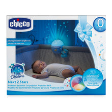 Baby equipment rental in Lisbon, Portugal. Chicco light projector for relaxing nights just like home.
