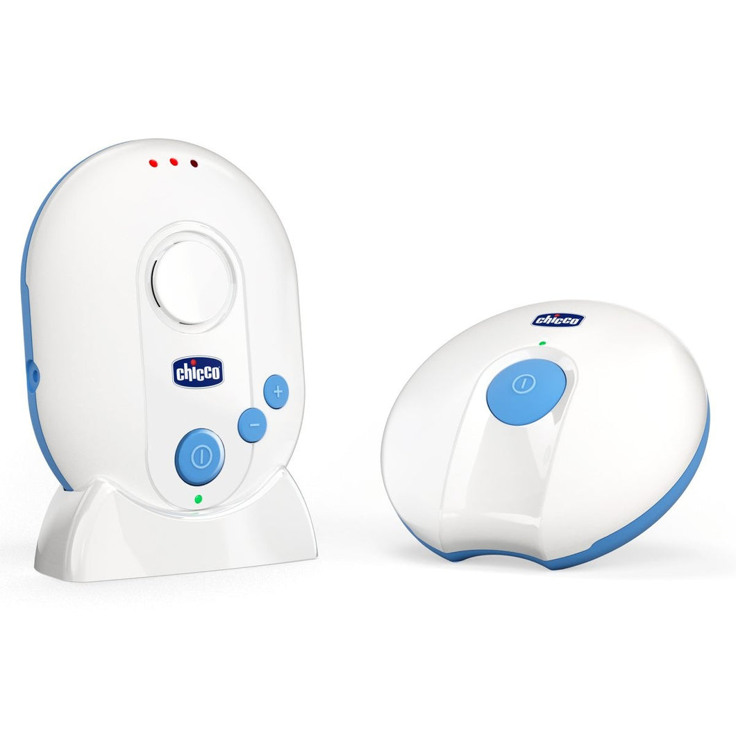Baby equipment rental in Lisbon, Portugal. Chicco baby monitor for relaxing nights just like home.