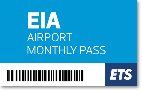 JUNE EIA Airport Pass