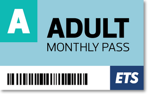 ETS Adult Monthly Pass
