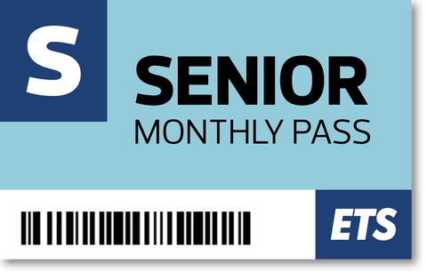 ETS Senior Monthly Pass