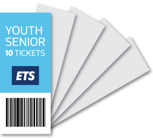 Youth/Senior 10 Tickets