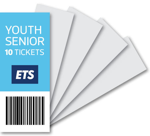 ETS Youth/Senior Ticket 10 Strip