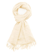 Cream - Soft Woven Pineapple Pleat