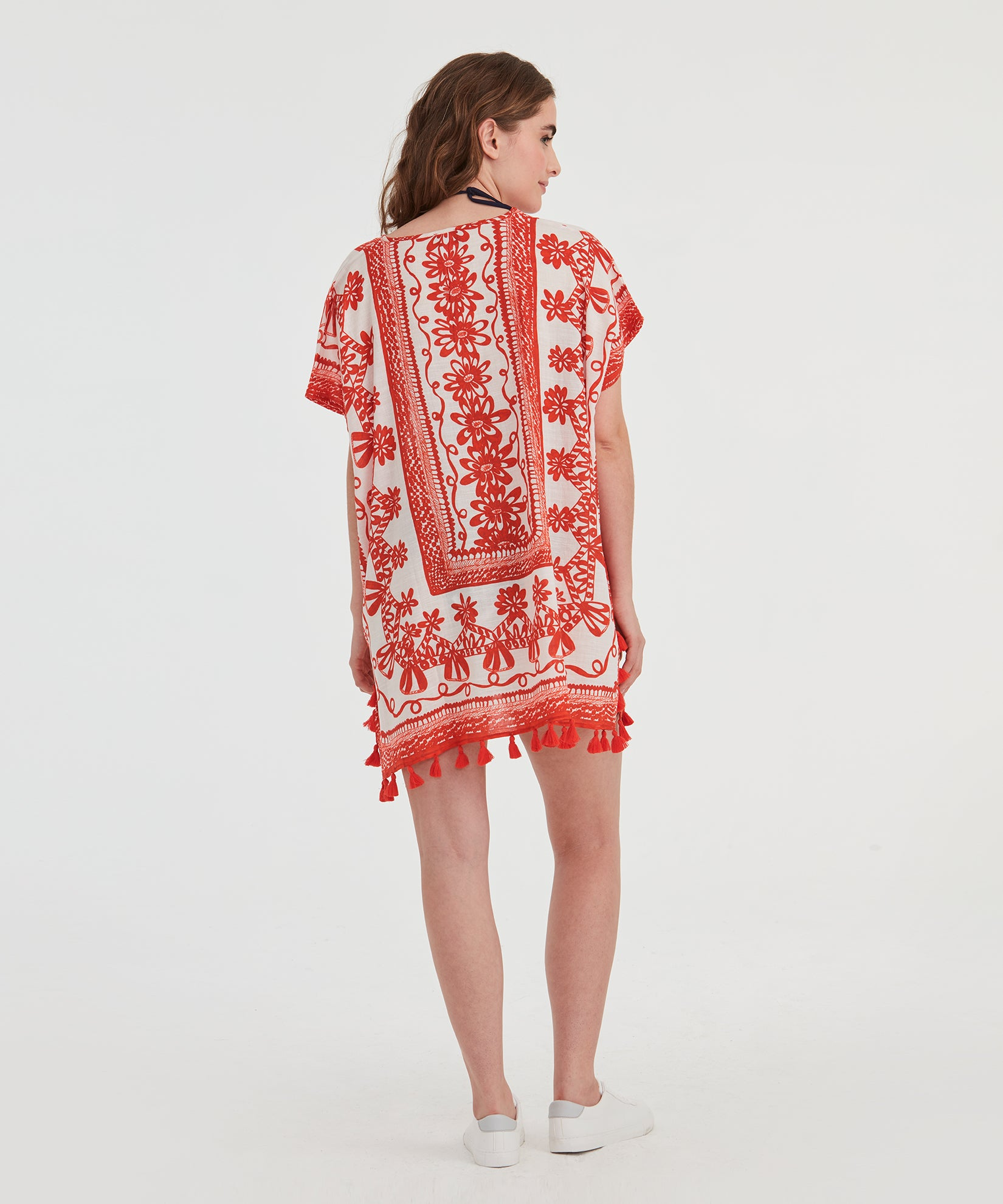 Sketchy Scroll Caftan - Sketchy Scroll Caftan