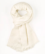 Ivory - Pleated Milk Blanket Wrap
