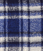 Navy - Lofty Plaid Woven Wrap