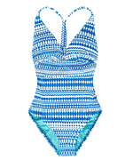 Ocean - Geo Cross Back One Piece