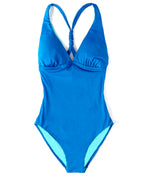 Ocean - Solid Cross Back One Piece