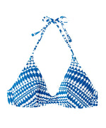 Ocean - Geo Scoop Halter Top