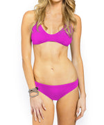 Bright Orchid - Solid Basic Hipster Bottom