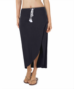 Black - Solid Convertible Skirt