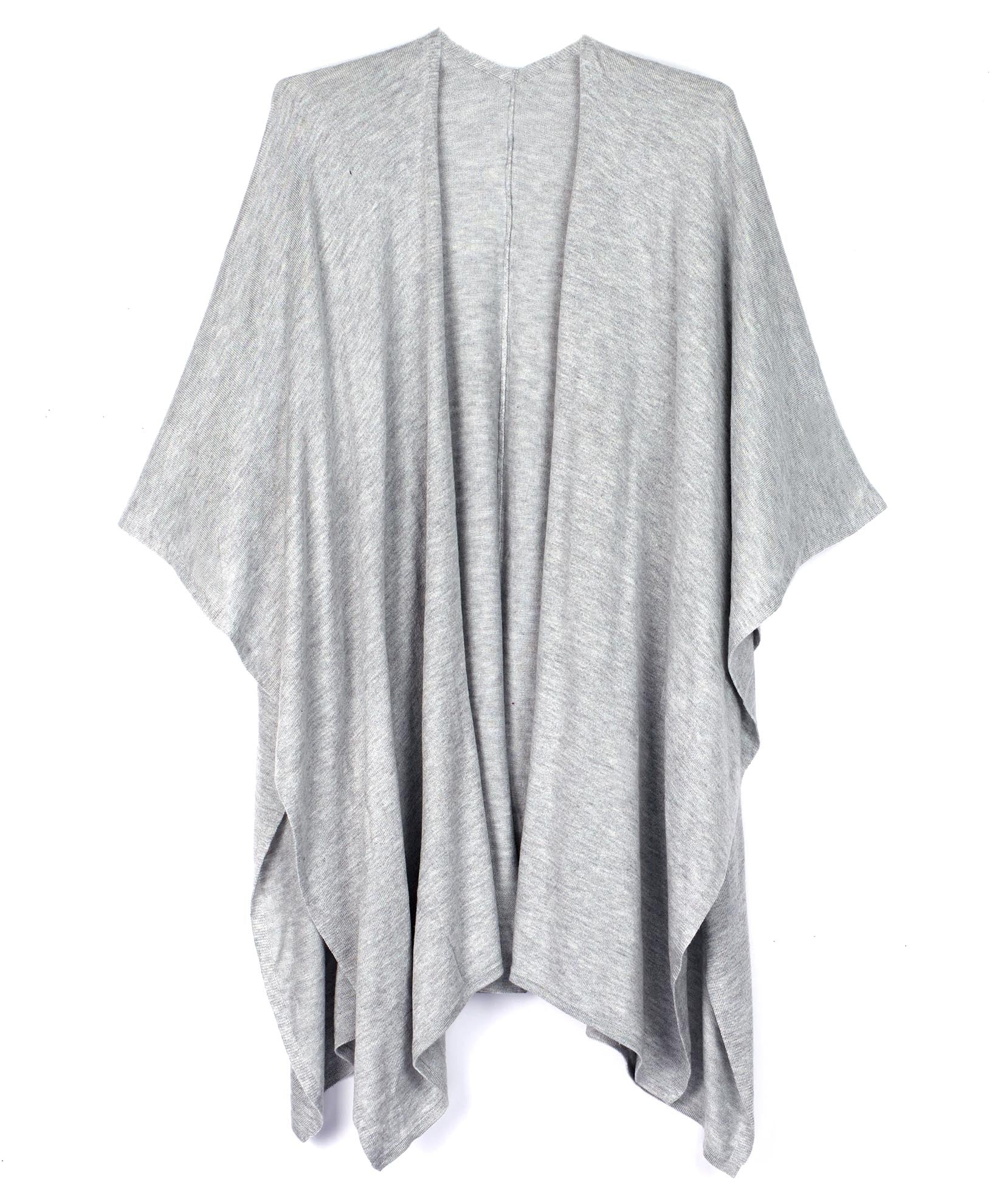 Heather Grey - Everyday Luxe Ruana