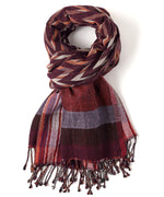 Pomegranate - Ziggy Stripe Wrap