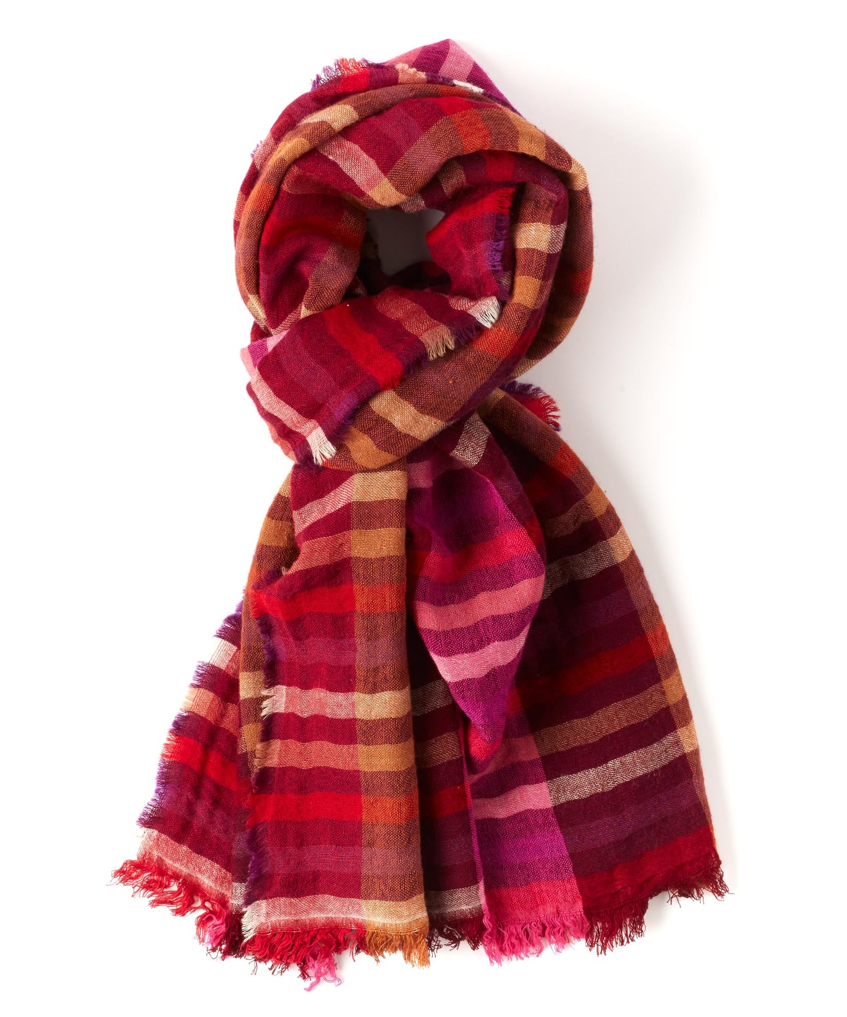 Perfect Plum - Bright Stripes Wrap
