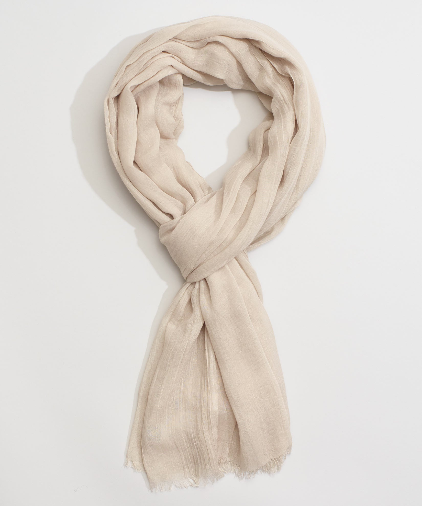 Linen - Solid Crinkle Wrap