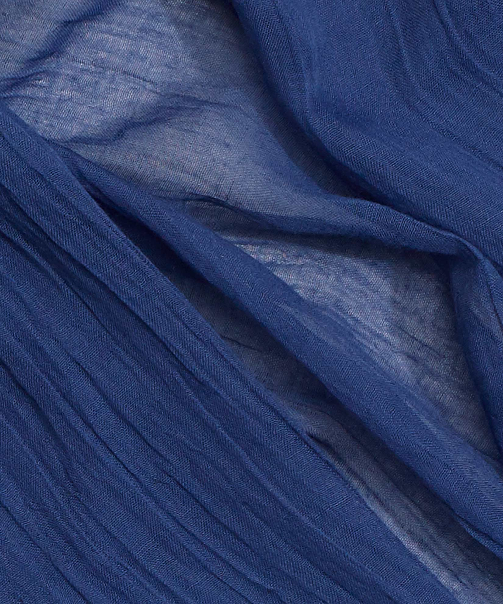 Navy - Solid Crinkle Wrap