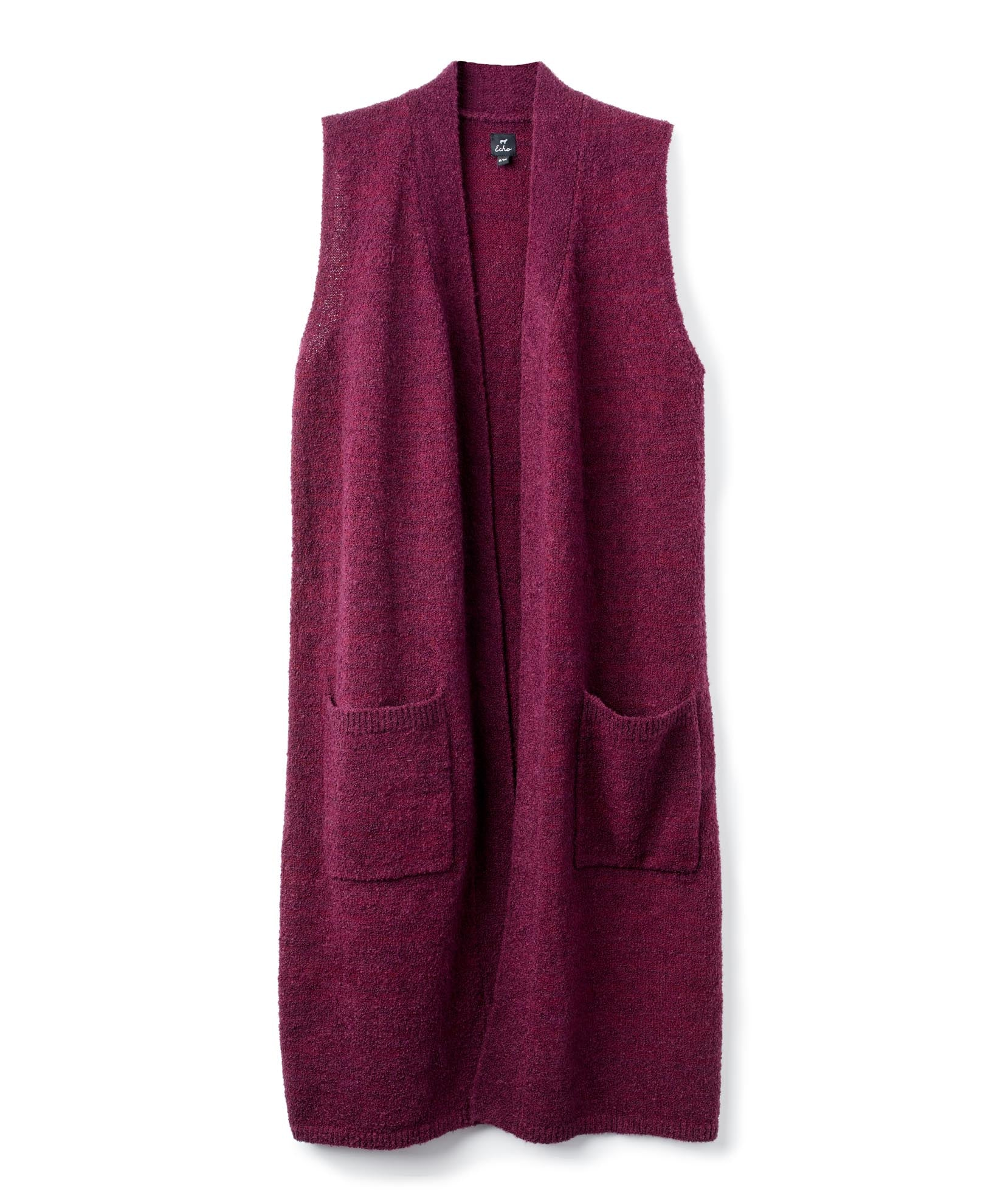 Fig - Knit Cross Over Vest