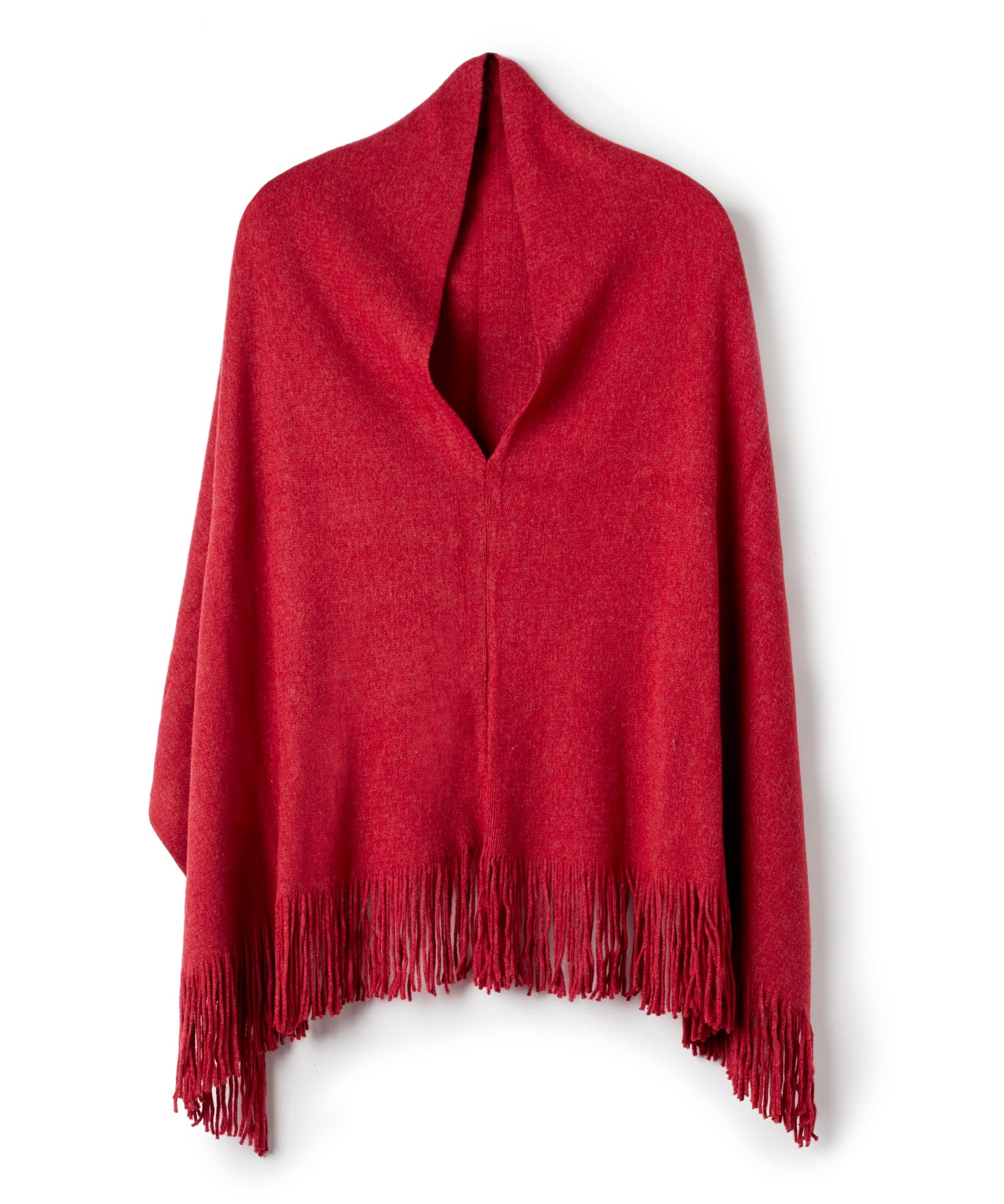 Currant - M Soft Poncho