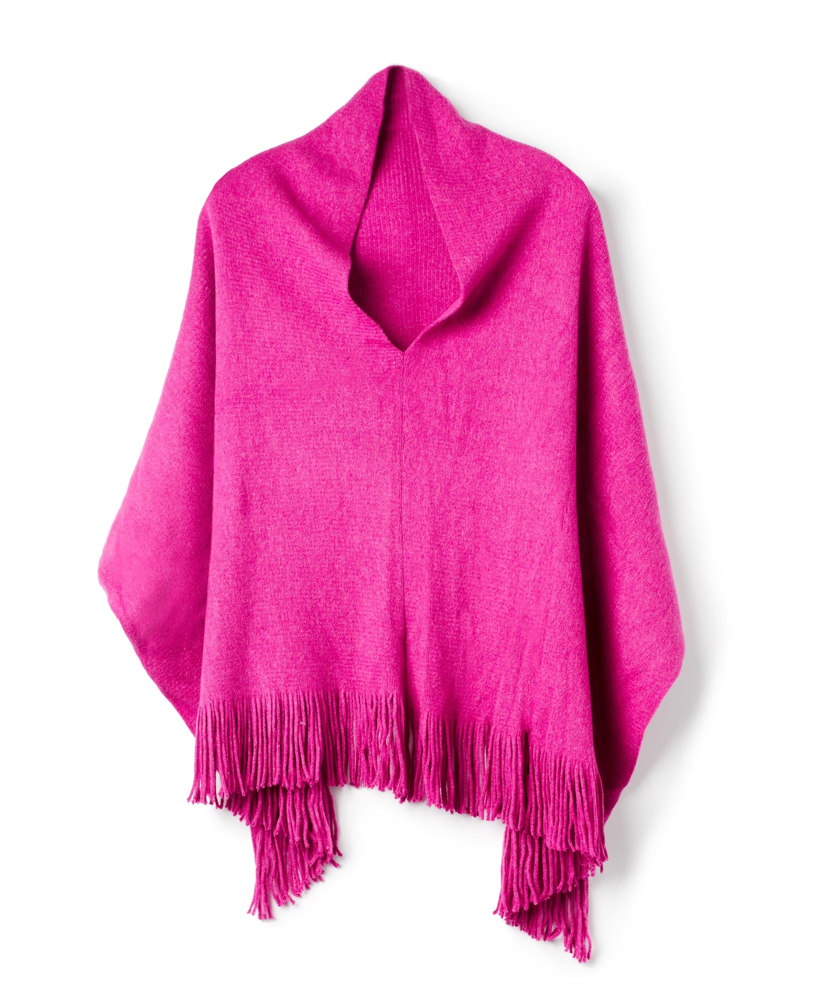 Winterberry - M Soft Poncho