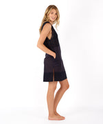 Black - Coastal Eyelet Tunic