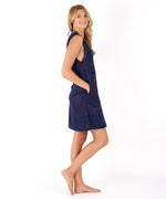 Navy - Coastal Eyelet Tunic