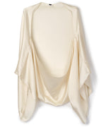 White Sand - Hammered Silk Cocoon