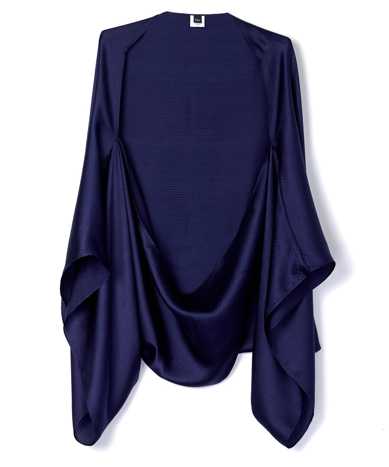 Navy - Hammered Silk Cocoon
