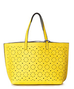 Marigold/Silver - Sunflower Laser Cut Essex Tote
