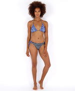 Black - Fleur De La Mer String Bottom