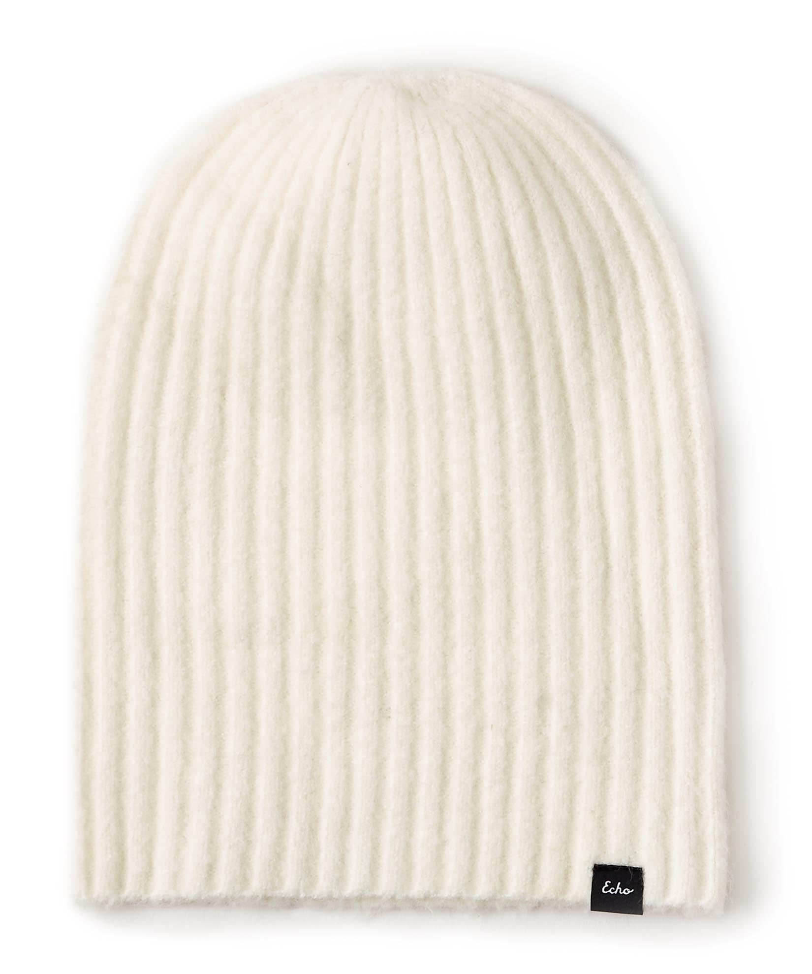 Marshmallow - Echo Soft Stretch Slouch Hat